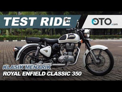 Royal Enfield Classic 350 l Test Ride | Klasik Menarik | OTO.com