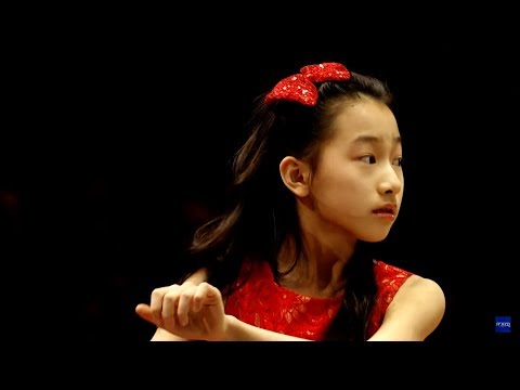 Harmony Zhu (age 12) - Beethoven Piano Concerto No.2 Op.19 with the Israel Philharmonic Orchestra