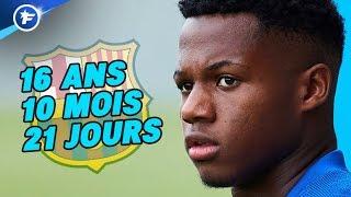 Les deux incroyables records que peut battre Ansu Fati en Ligue des Champions | Revue de presse