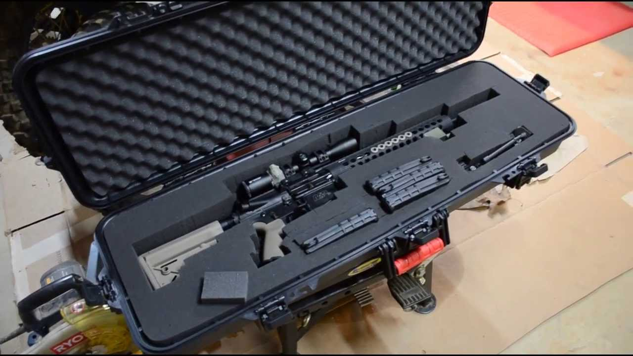 60 Pelican Case Plano Gun Guard Youtube