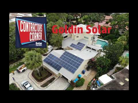 Contractors Corner: Goldin Solar