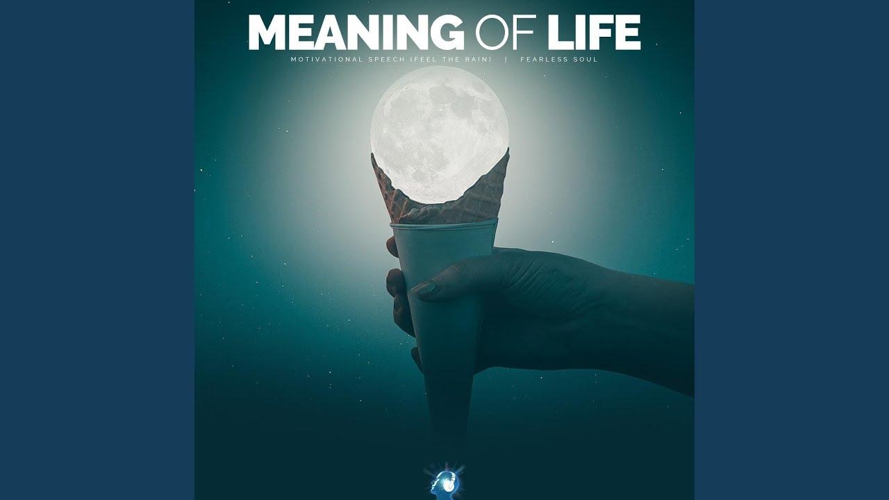 Meaning Of Life Motivational Speech Feel The Rain