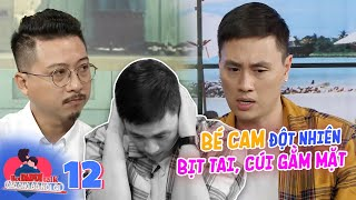 Hot daddy talk | Ep 13: Cam Cam panickingly looked down as Kien Hoang and Heo Mi Nhon argue