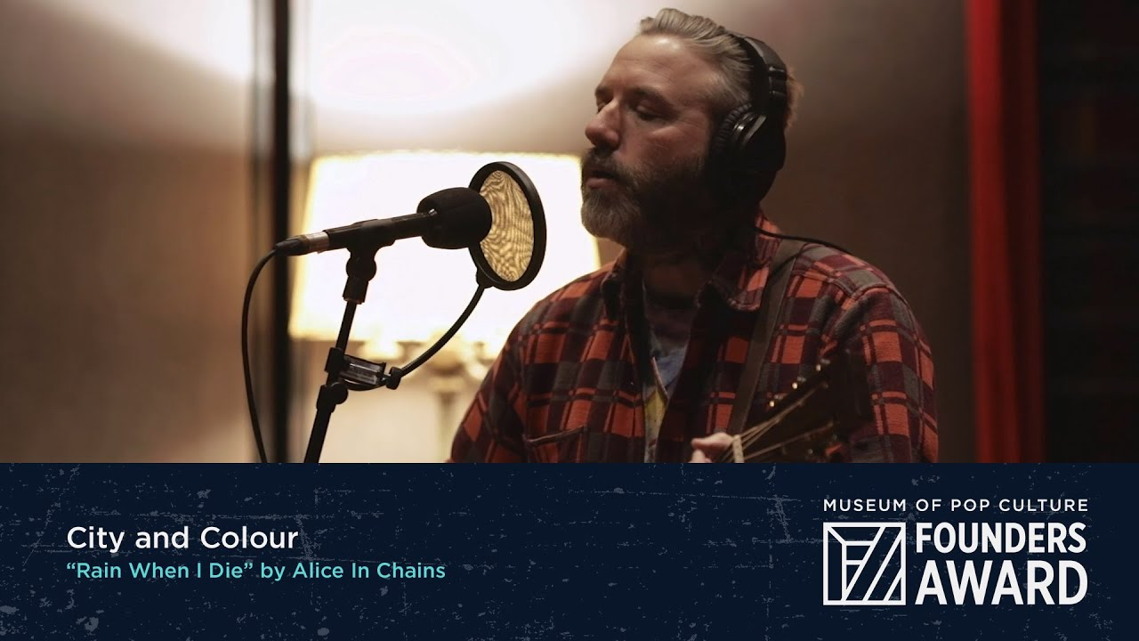 "City and Colour - ""Rain When I Die"" by Alice In Chains 