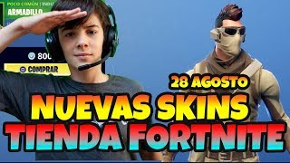 NEW SKINS ARMADILLO & SCORPION FORTNITE STORE AUGUST 28, 2018