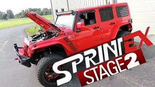 Sprintex Supercharger on Jeep Wrangler at Brenspeed, Love That Sound!
