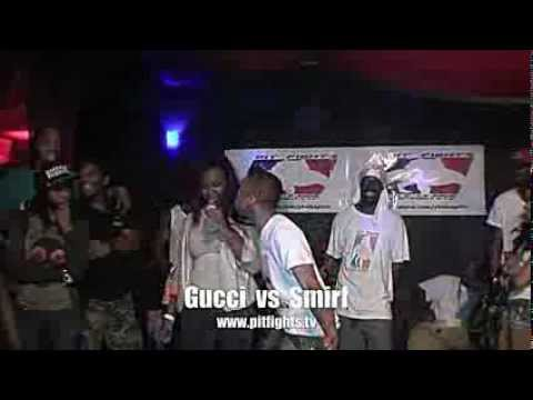 PIT FIGHTS BATTLE LEAGUE : A TIME 2 KILL : Gucci vs Smirf