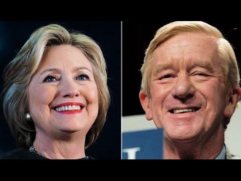 Libertarian VP Candidate Bill Weld Basically Endorses Hillary Clinton
