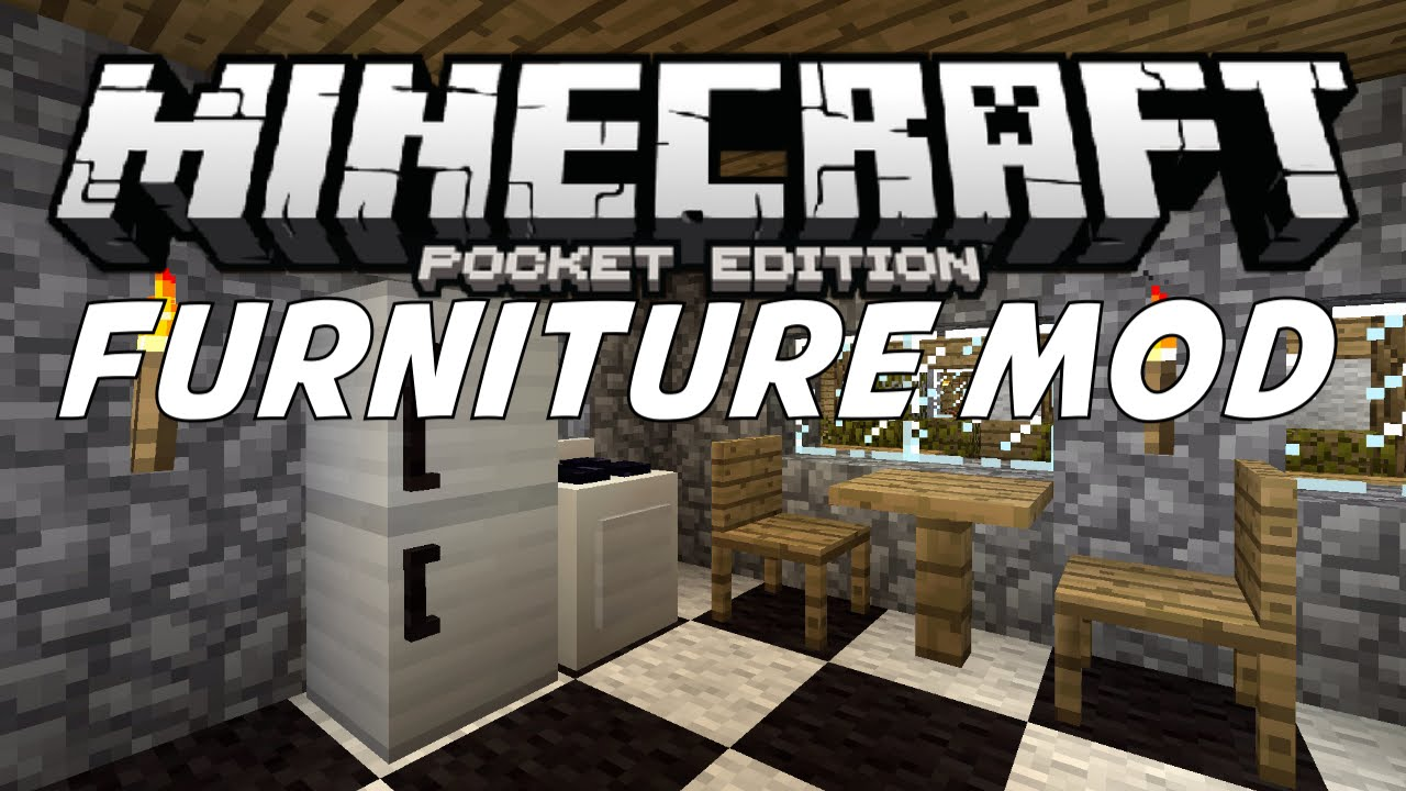 Furniture Mod In Mcpe Minecraft Pe Pocket Edition Mods 0 11 0