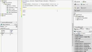 ВидеоУрок Delphi : ProgressBar