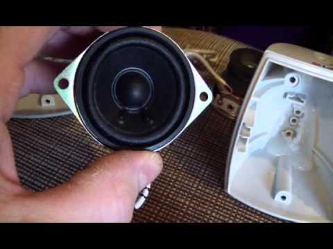 Mame Cabinet Speaker Dissection Youtube