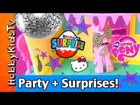 c6c98b738c My Little Pony Dance Party + Disney Princess Kinder Egg! HobbyKidsTV ...