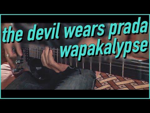 The Devil Wears Prada - Wapakalypse guitar cover