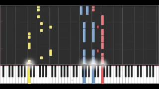 Happy - Synthesia (50% Speed)