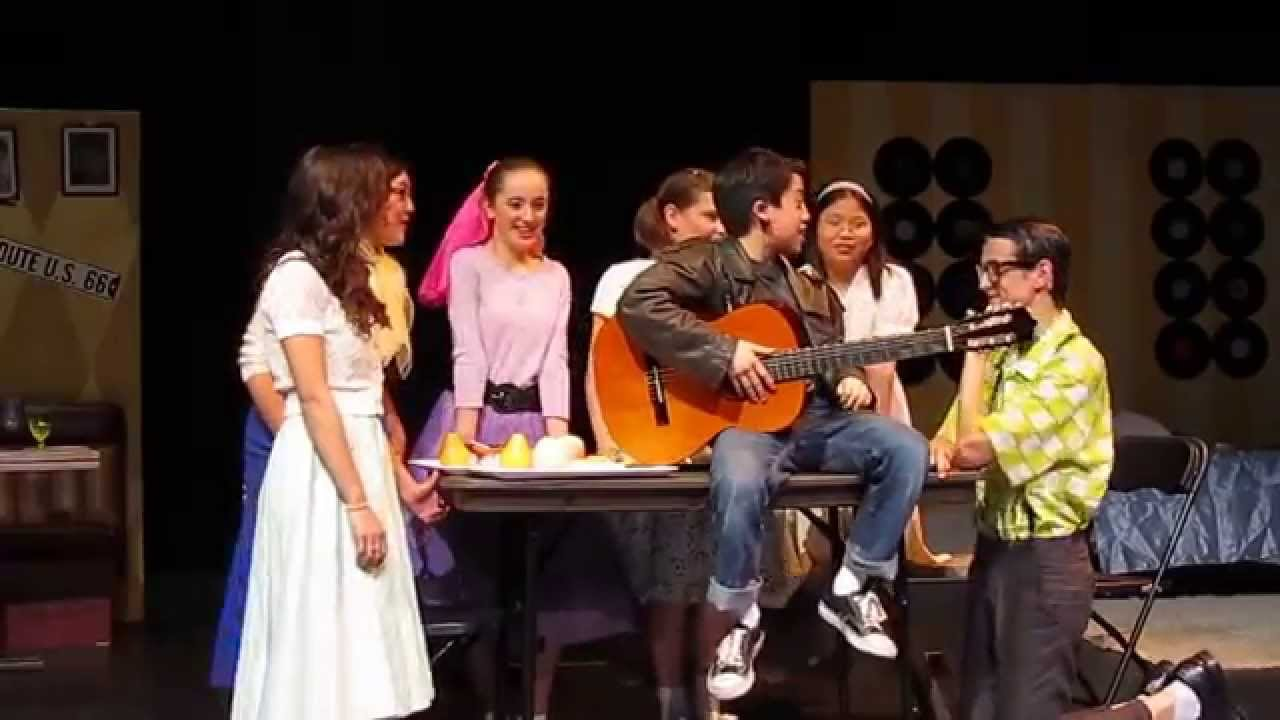 Grease The Musical - Doody Singing Those Magic Changes ...