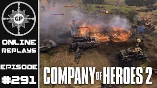 Company of Heroes 2 Online Replays #291 - Let The Arty War Begin