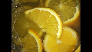 Изотонический напиток. Лимонад по домашнему.