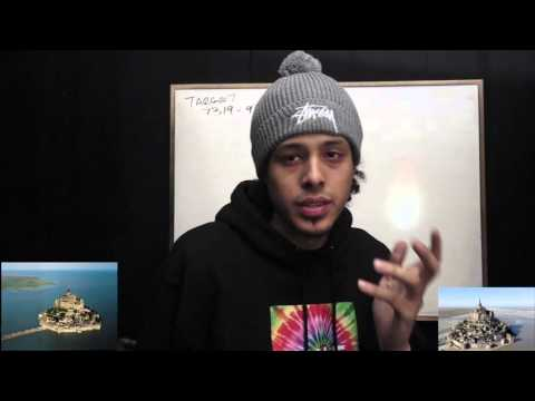 REMOTE VIEWING - MONT SAINT MICHEL - WHITEBOARD / VIDEO