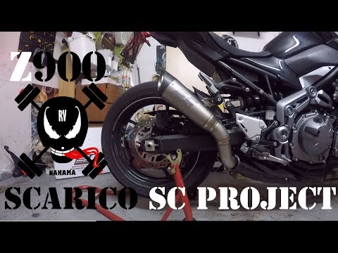 Repeat KAWSAKI Z900 • CAMBIO SCARICO SC PROJECT S1 (NO DB
