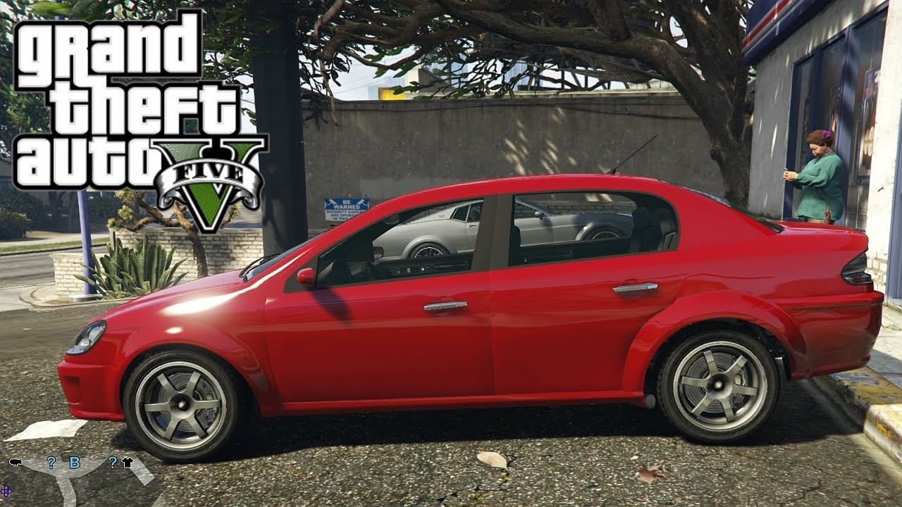 Gta V Next Gen Declasse Premier Sedan Test Drive Youtube
