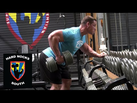 John Cena hates doing bicep curls!?: Hard Nocks South Life