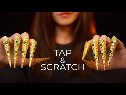 ASMR Long Claws Tapping And Scratching (No Talking)