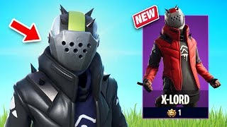 New X-Lord Skin Gameplay - Storm Scavenger Set! (Fortnite Battle Royale)