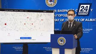Мобильное приложение, отражающее ситуацию с коронавирусом, презентовали в Алматы