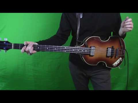 A Hard Day's Night - Isolated Bass Guitar