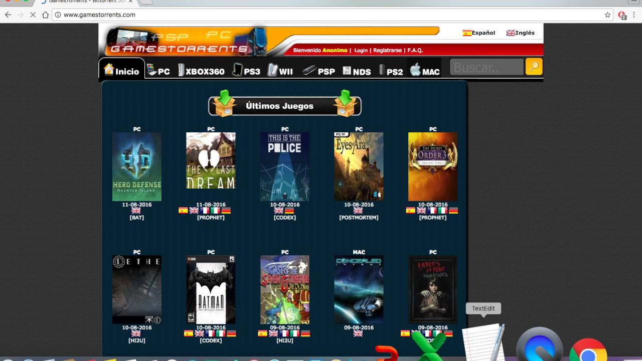 How To Get All Games Available On Mac Os For Free Torrent