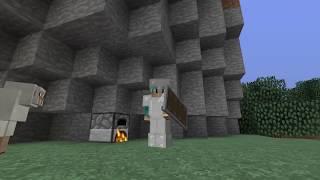 Minecraft (PL) Hardkorowa Przygoda #18 - Potworna noc