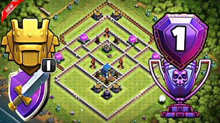 TH12 STRONG DEFENSIVE LEGEND BASE WITH REPLAYS | TH12 TROPHY BASE FOR LEGEND LEAGUE- Clash of Clans