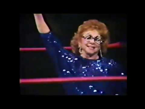 Donna Christianello (w/The Fabulous Moolah) Pins Wendi Richter, 5-13-1985