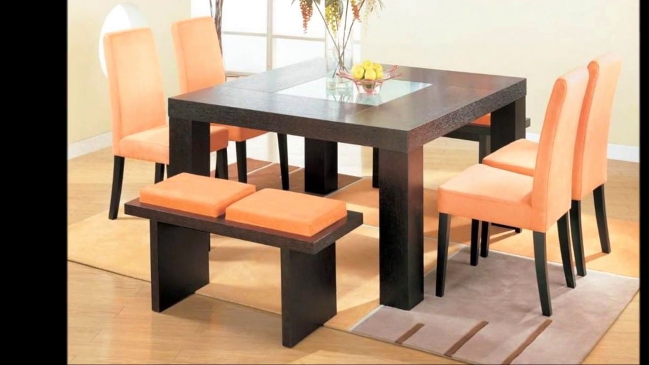 Beautiful Round Or Square Dining Table For Small E Living Room Magz