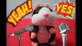 RATINHO FALANTE : Brinquedo que fala e conversa | Ele imita tudo