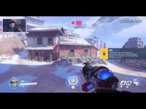 Overwatch Stream Highlight: Ster poops his pants