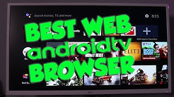 BEST Android TV Web Browser Can Download files PUFFIN BROWSER