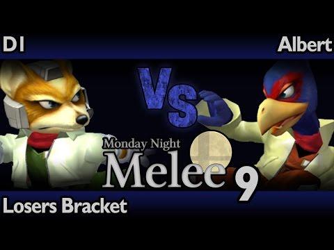 MNM9 Melee - D1 (Fox, Falco) vs Albert (Falco) - Losers Bracket