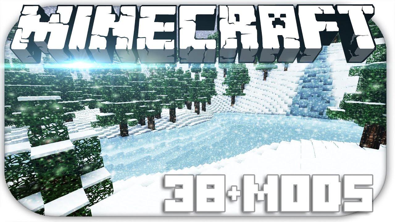 Скачать Новогодний Клиент Minecraft 1.6.4 - Сhristmas ...