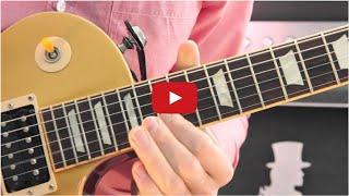 Slash Rock Guitar Lesson #11: Play Guitar Like Slash! *HD*
