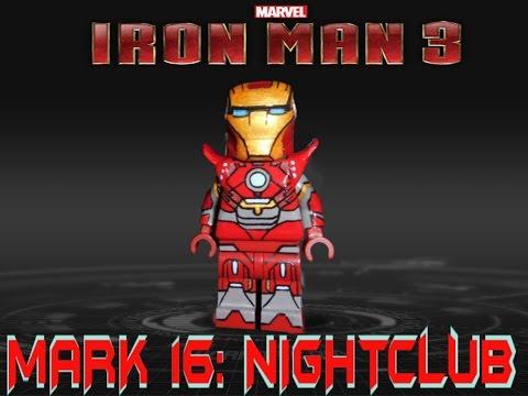 Iron Man Mark 16 Nightclub Lego Mark 16 Nightclub Iron