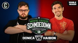 Mark Donica VS Jared Haibon & Stacy Howard VS RB3 - Movie Trivia Schmoedown