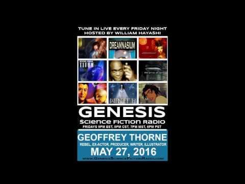 52716 FOR GEOFFREY THORNE   REBEL, EX ACTOR, PRODUCER, WRITER, ILLUSTRATOR