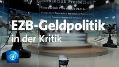 Aufstand gegen Draghi – Plündert die EZB unsere Rücklagen? | ARD-Presseclub