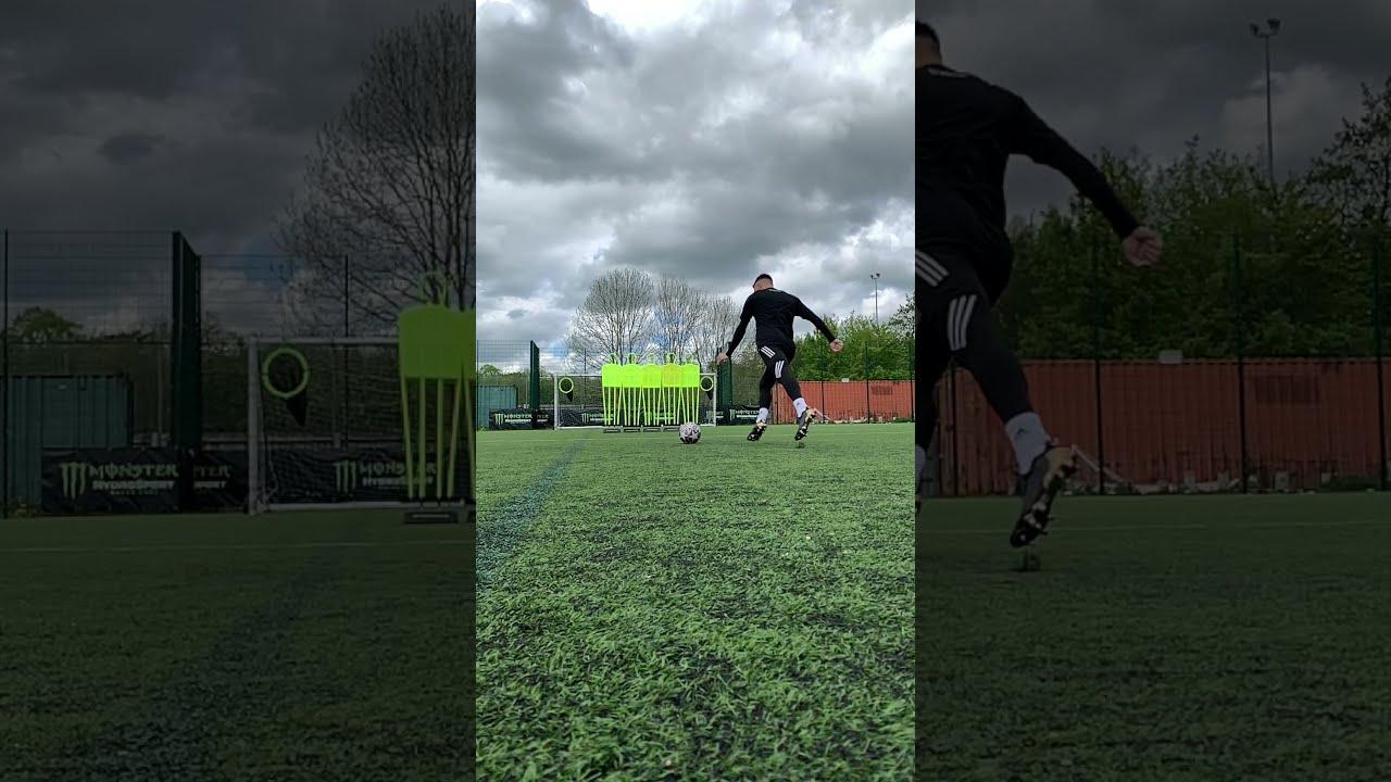 FOOTBALL MEETS MUSIC ⚽️🎼 | SATISFACTION #Shorts