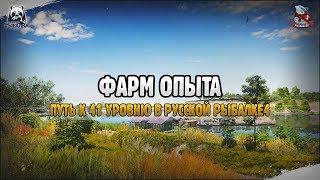Стрим. Фарм опыта в Русской Рыбалке 4