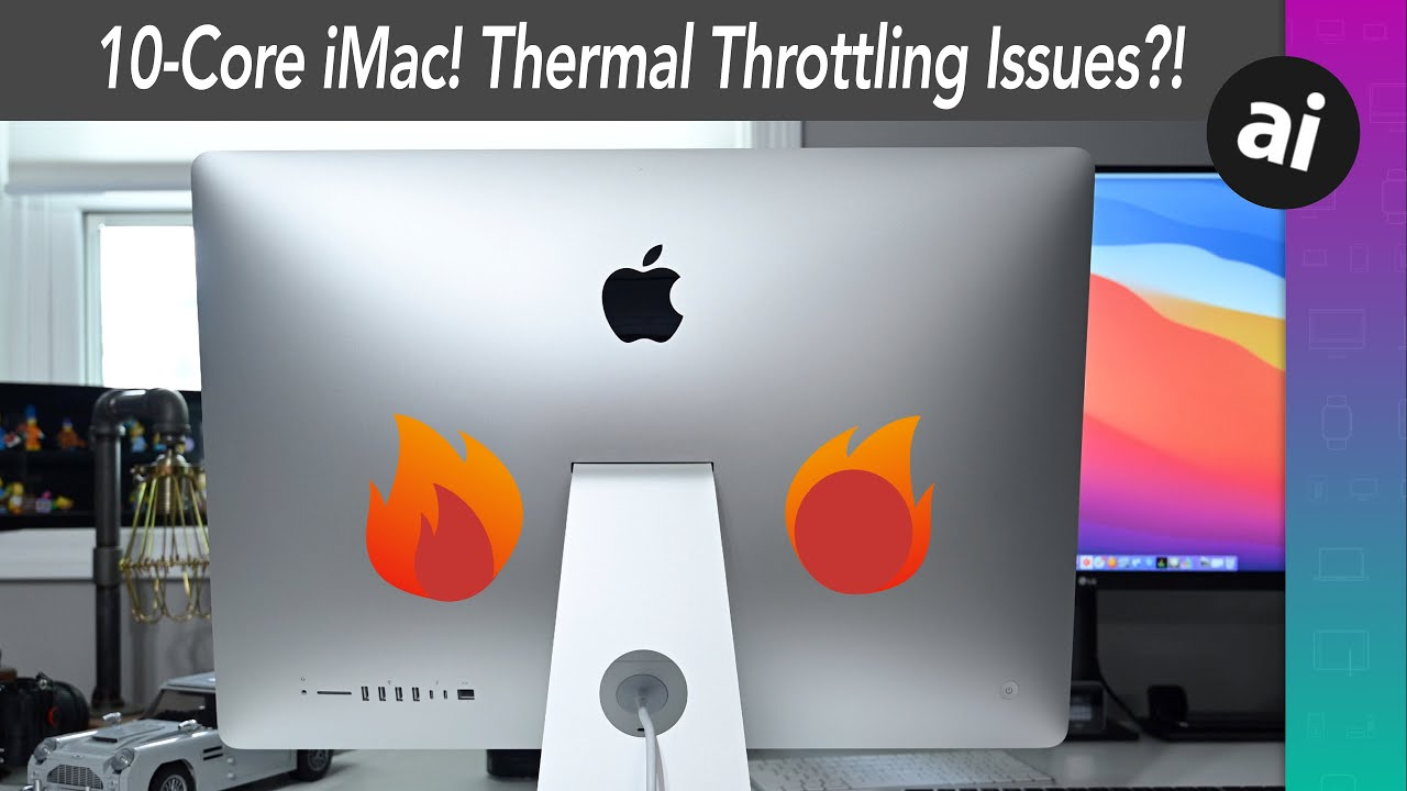 Putting the 27-inch i9 iMac thermal performance to the test