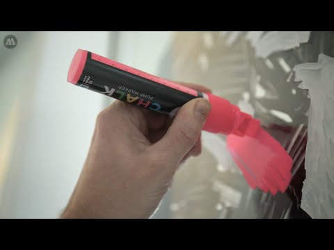 MOLOTOW™ Product Sessions #27 - MOLOTOW™ CHALK PUMP MARKER