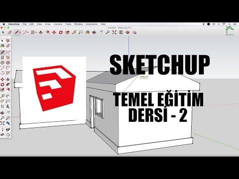SketchUp Temel Eğitim Dersleri - 2