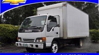 2001 Isuzu NPR Box Truck f224